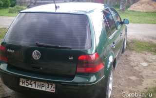 Volkswagen golf 1998 1 6 отзывы